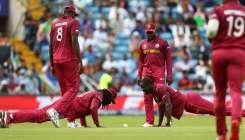 अफगानिस्तान बनाम वेस्टइंडीज: वर्ल्ड कप के अपने आखिरी मैच में छाए क्रिस गेल, कैच लेते ही करने लगे पुश- India TV