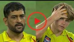 MS Dhoni and Sam Curran- India TV Hindi