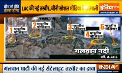 Satellite image of Indian positions at LAC in Galwan Valley goes viral in Chinese social media- India TV Paisa