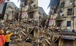 Mumbai building collapses, some people feared buried मुंबई में गिरा इमारत का एक हिस्सा, कुछ लोगों के- India TV Paisa