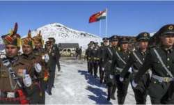 Chinese PLA removed their temprory structure in Patrol...- India TV Paisa