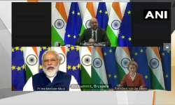 India-EU Summit में पीएम मोदी ने कहा-'हमारी सहभागिता विश्व शांति और स्थिरता के लिए उपयोगी'- India TV Paisa
