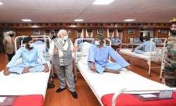 PM Modi met soldiers who were injured in Galwan Valley clash of June 15- India TV Paisa