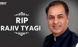 Rajiv Tyagi passes away due to cardiac arrest- India TV Paisa