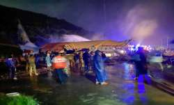 Air India Express plane skidded during landing at Karipur Airport, Kozhikode.- India TV Paisa
