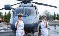 2 women officers sub lieutenants kumudini tyagi and riti singh to join crew of frontline indian navy- India TV Paisa