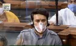 Proud to be Himachal Ka Chhokra Anurag Thakur reply to Adhir Ranjan Chowdhury while discussion on PM- India TV Paisa