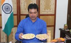 Bamboo made biscuits launched by Tripura Chief Minister Biplab Deb- India TV Paisa