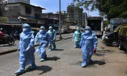 <p>Coronavirus testing in...- India TV Paisa
