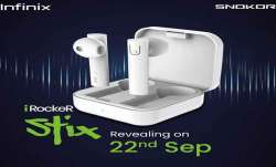 नए ऑडियो ब्रांड SNOKOR ने वास्तविक वायरलेस ईयरबड्स iRocker Stix के अलावा Bass Drops वायर्ड ईयरफोन को- India TV Paisa
