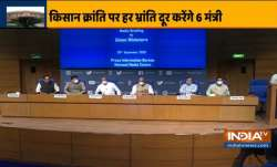 Rajnath Singh Piyush Goyal Prakash Javdekar press conference- India TV Paisa