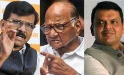 Saharad Pawar, Sanjay Raut meets Devendra Fadnavis, Sanjay Raut, Devendra Fadnavis- India TV Paisa