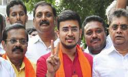 BJP appointed Tejasvi Surya as Yuva Morcha President - India TV Paisa