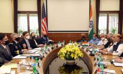 <p>India America two Plus two...- India TV Paisa
