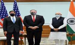 Pompeo, Asper Meet PM Modi After 2+2 Dialogue- India TV Paisa