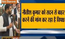 RJD MLA protest over Nitish kumar presence in bihar vidhan sabha । बिहार विधानसभा के अंदर नीतीश कुमा- India TV Paisa