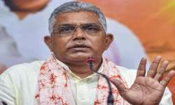 बीजेपी नेता दिलीप घोष ने कहा-'दूसरे कश्मीर में बदल गया है बंगाल'- India TV Paisa