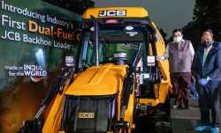 JCB devlope dual fuel diesel cng loader- India TV Paisa
