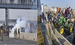 Tractor Rally Police use tear gas Tractor Rally: किसानों की ट्रैक्टर रैली में बवाल, पुलिस को दागने प- India TV Paisa