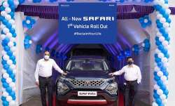 2021 Tata Safari unveiled- India TV Paisa