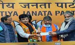 TMC MLA Arindam Bhattacharya Joins BJP- India TV Paisa