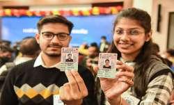 Delhi Municipal Corporation Bye Elections voting today दिल्ली: MCD का सेमीफाइनल! AAP,BJP और कांग्रेस- India TV Paisa
