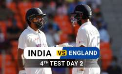 India vs England 2021 live cricket score 4th test day 2 ball by ball match updates from Narendra Mod- India TV Paisa