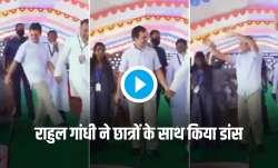 Rahul gandhi dances in Tamil Nadu school watch video तमिलनाडु में राहुल गांधी ने स्कूल के छात्रों के- India TV Paisa