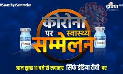 coronavirus second wave health summit india tv live Harshvardhan shivraj singh tirath rawat anil viz- India TV Paisa