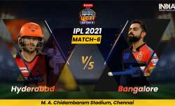live match score Sunrisers Hyderabad vs royal challengers bangalore match 6th SRH vs RCB score updat- India TV Paisa