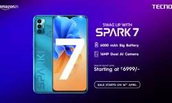 टेक्नो ने 6,999 रुपए की कीमत में स्पार्क 7 स्मार्टफोन लॉन्च किया- India TV Paisa