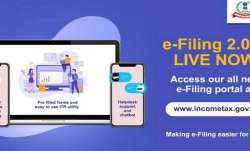 New income tax e-filing website launched- India TV Paisa