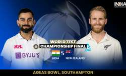India vs new Zealand 2021 wtc final Day 2 live match score ball by ball updates in hindi from ageas - India TV Paisa