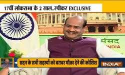 17वीं लोकसभा के 2 साल पर लोकसभा स्पीकर ओम बिरला ने इंडिया टीवी के साथ की खास बातचीत- India TV Paisa
