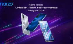 Realme introduces two new smartphones narzo 30 5G and narzo 30 in India- India TV Paisa