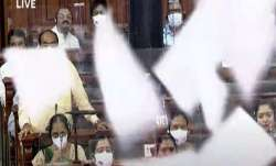 Modi govt to move motion seeking suspension of 10 MPs for throwing paper in Lok Sabha- India TV Paisa