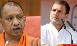 यूपी के सीएम योगी आदित्यनाश और कांग्रेस नेता राहुल गांधी- India TV Paisa