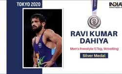 Ravi Dahiya Silver Medal In Tokyo Olympics 2020 freestyle Wrestling 57 kg- India TV Paisa
