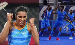 PV Sindhu wins bronze medal, hockey team enters semi-finals after 49 years Tokyo Olympics 2020 1st A- India TV Paisa