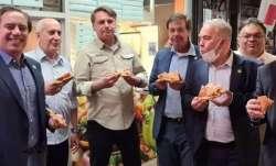 Bolsonaro Pizza, Bolsonaro Pizza Footpath, Bolsonaro Pizza New York, Bolsonaro- India TV Paisa