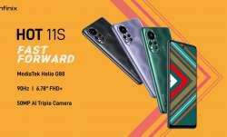 Infinix ने लॉन्च किए Hot 11, Hot 11S स्मार्टफोन, कीमत मात्र 8999 रुपए से शुरु- India TV Paisa