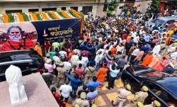 Mahant Narendra Giri given 'Bhu-Samadhi', what initial post-mortem report says- India TV Paisa