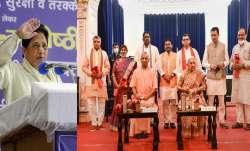 mayawati attacks yogi adityanath for cabinet expansion before uttar pradesh elections योगी कैबिनेट व- India TV Paisa