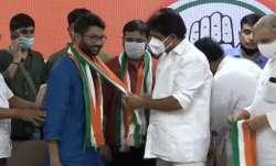 Kanhaiya Kumar, Kanhaiya Kumar joins Congress, Jignesh Mevani joins Congress- India TV Paisa