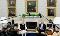 PM Narendra Modi, President Joe Biden hold first bilateral meeting- India TV Paisa
