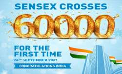 BSE Sensex risen from 50000 to 60000 milestone in less than a year, at 100000 Predictions start- India TV Paisa