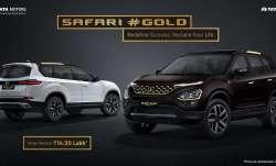 SUV के दिवानों के लिए Tata Motors लेकर आई सफारी गोल्ड संस्करण, देखें कीमत- India TV Paisa