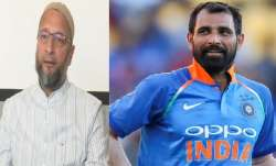 """""""टीम में 11 खिलाड़ी हैं, लेकिन मुस्लिम होने की वजह से मोहम्मद शमी को निशाना बनाया"""": ओवैसी- India TV Paisa"""