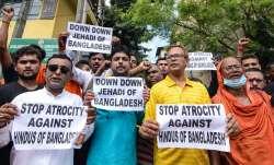 बांग्लादेश में हिंदुओं पर हमले की अमेरिका ने की निंदा, हिंदू संगठनों का प्रदर्शन- India TV Paisa
