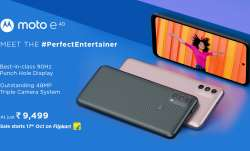 Motorola Launches moto e40 with 48MP Triple Camera System at Just Rs 9499- India TV Paisa